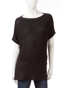 DKNY Jeans Black Pull-overs Sweaters Strapless