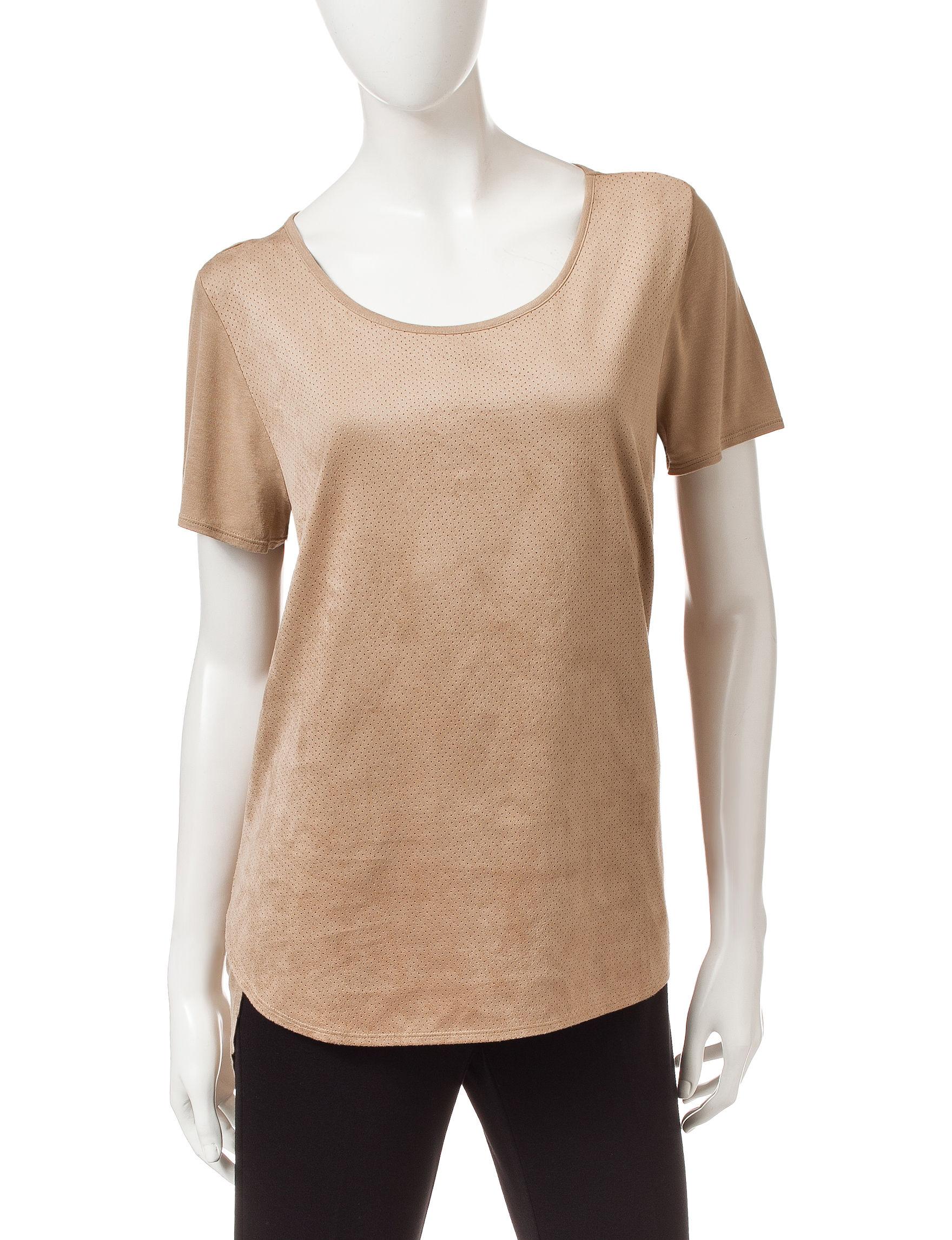 Bandolino Beige Pull-overs Shirts & Blouses