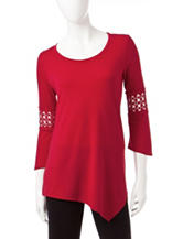 Hannah Bell Lace Tunic Top