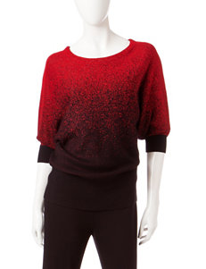 Hannah Red Pull-overs Shirts & Blouses