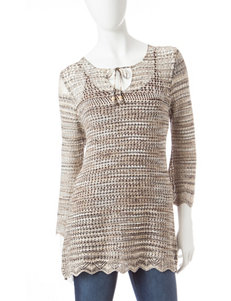 Hannah Neutral Pull-overs Shirts & Blouses