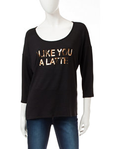 Hannah Yellow Pull-overs Shirts & Blouses Tees & Tanks