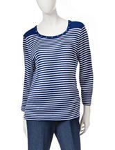 Cathy Daniels Striped Sweater