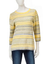 Hannah Multicolored Striped Knit Sweater