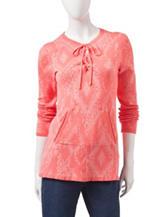 Ruby Rd. Jacquard Sweater