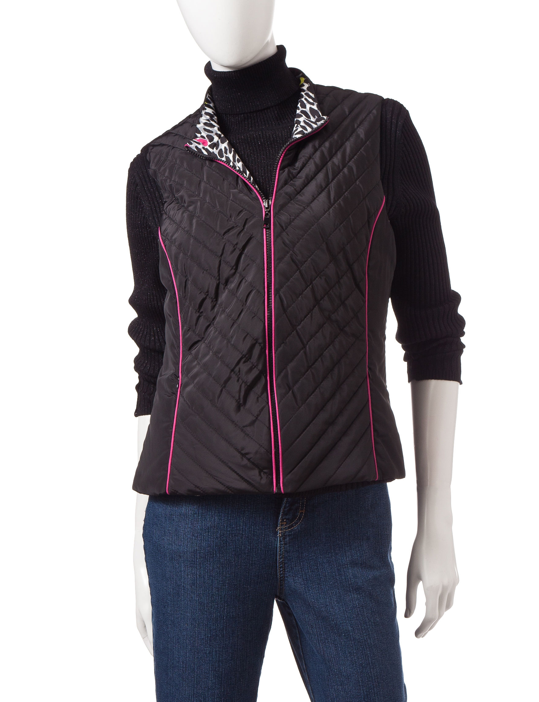 Ruby Road Black Lightweight Jackets & Blazers