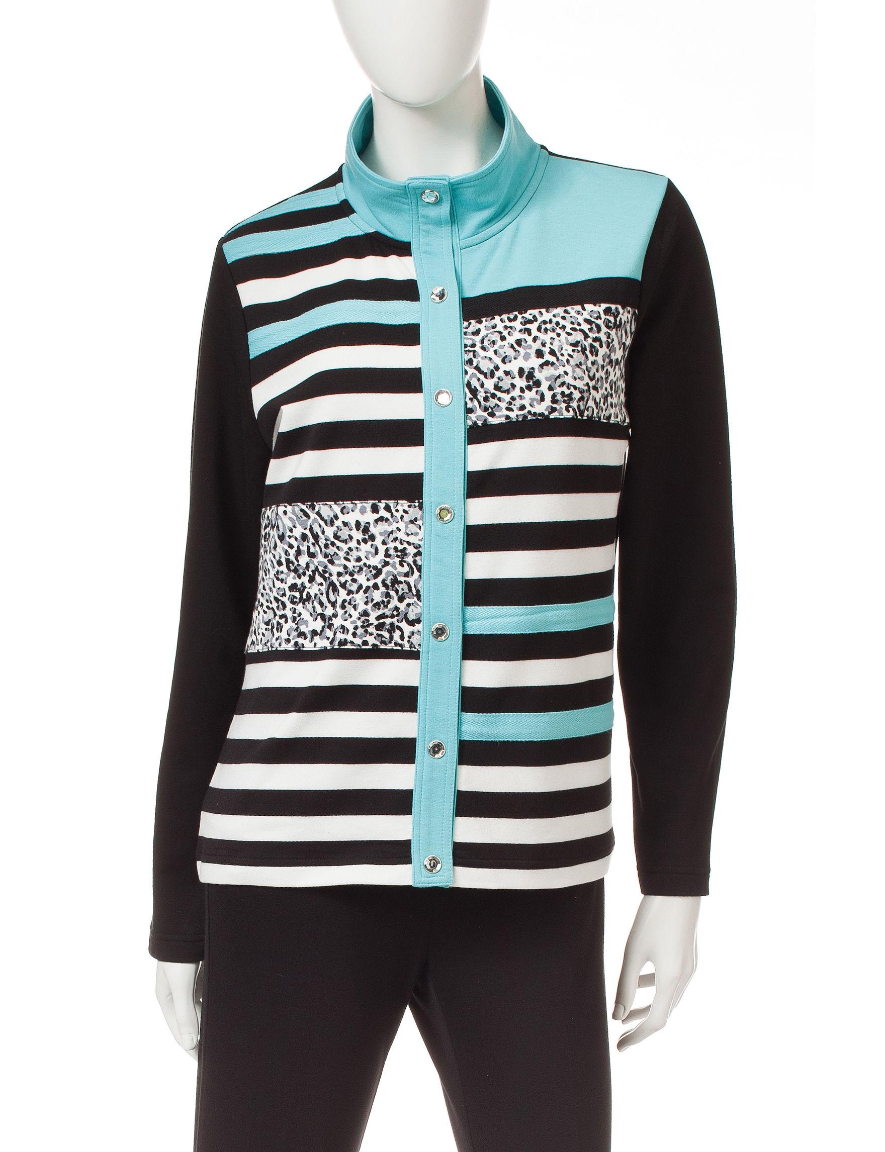 Onque Casuals Black Lightweight Jackets & Blazers