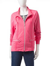 Onque Casuals Solid Color Jacket