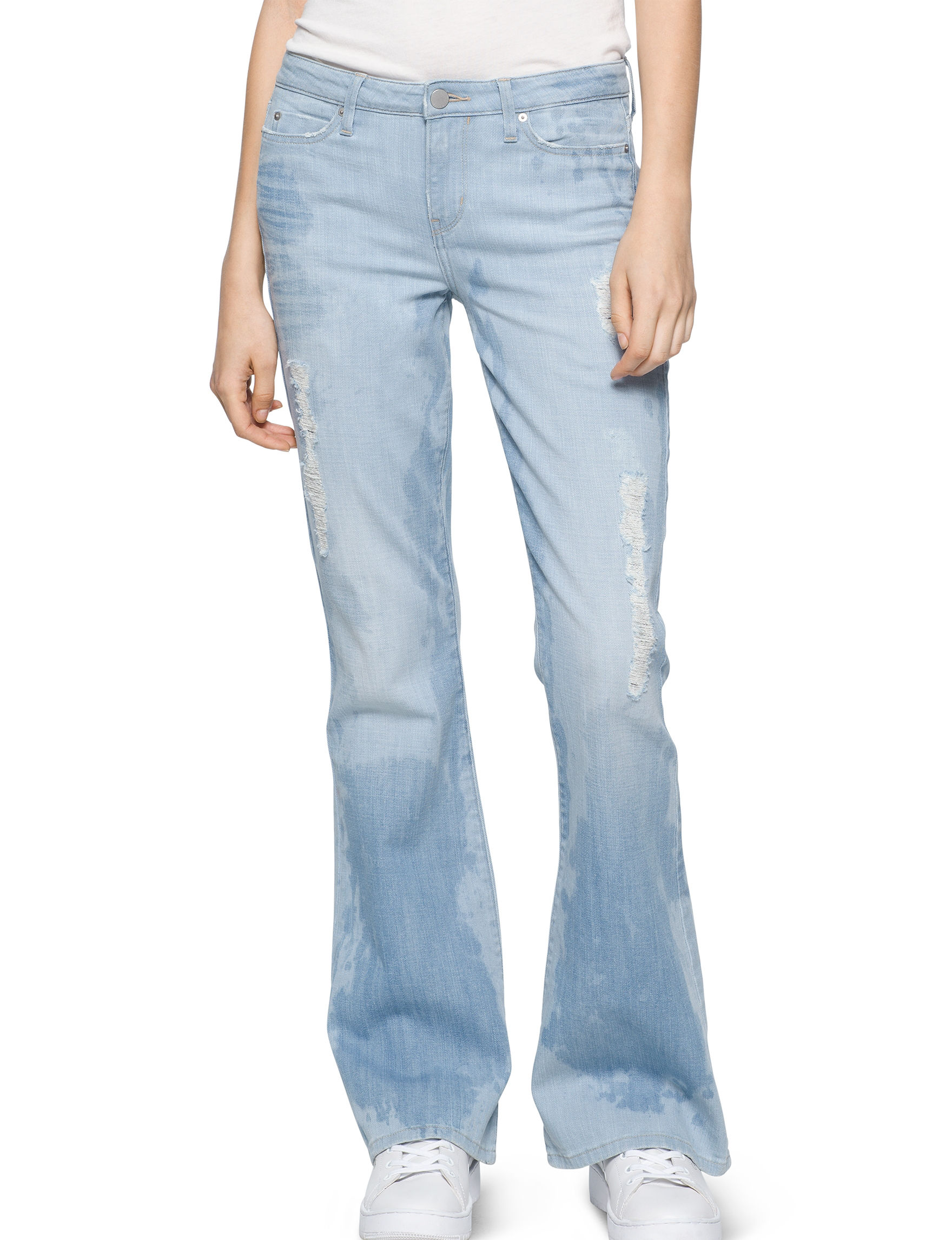 Calvin Klein Jeans Blue Flare
