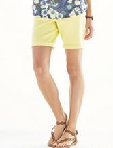 Hannah Twill Roll Hem Shorts