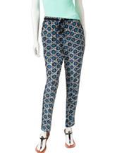 Ruby Rd. Silky Printed Pants