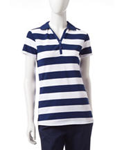 Dockers® Striped Classic Polo Shirt