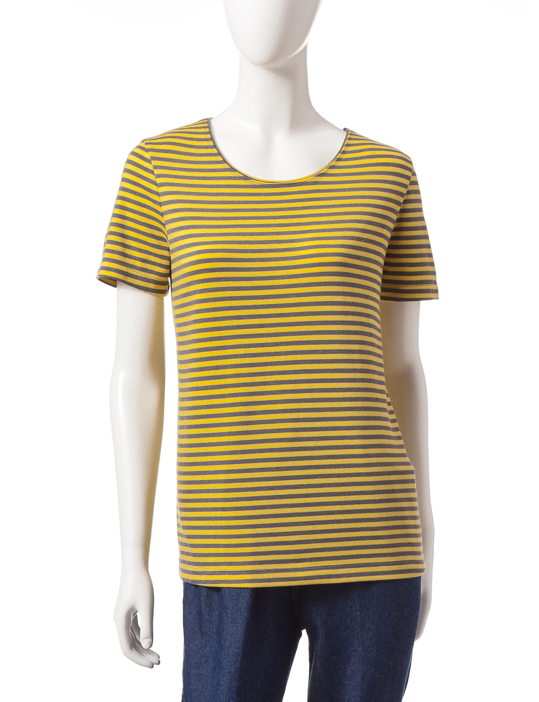 Rebecca Malone Yellow Shirts & Blouses