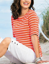 Rebecca Malone Striped Top