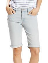 Levi's® Roll Hem Denim Bermuda Shorts