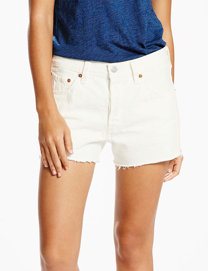 Levi's Natural Denim Shorts