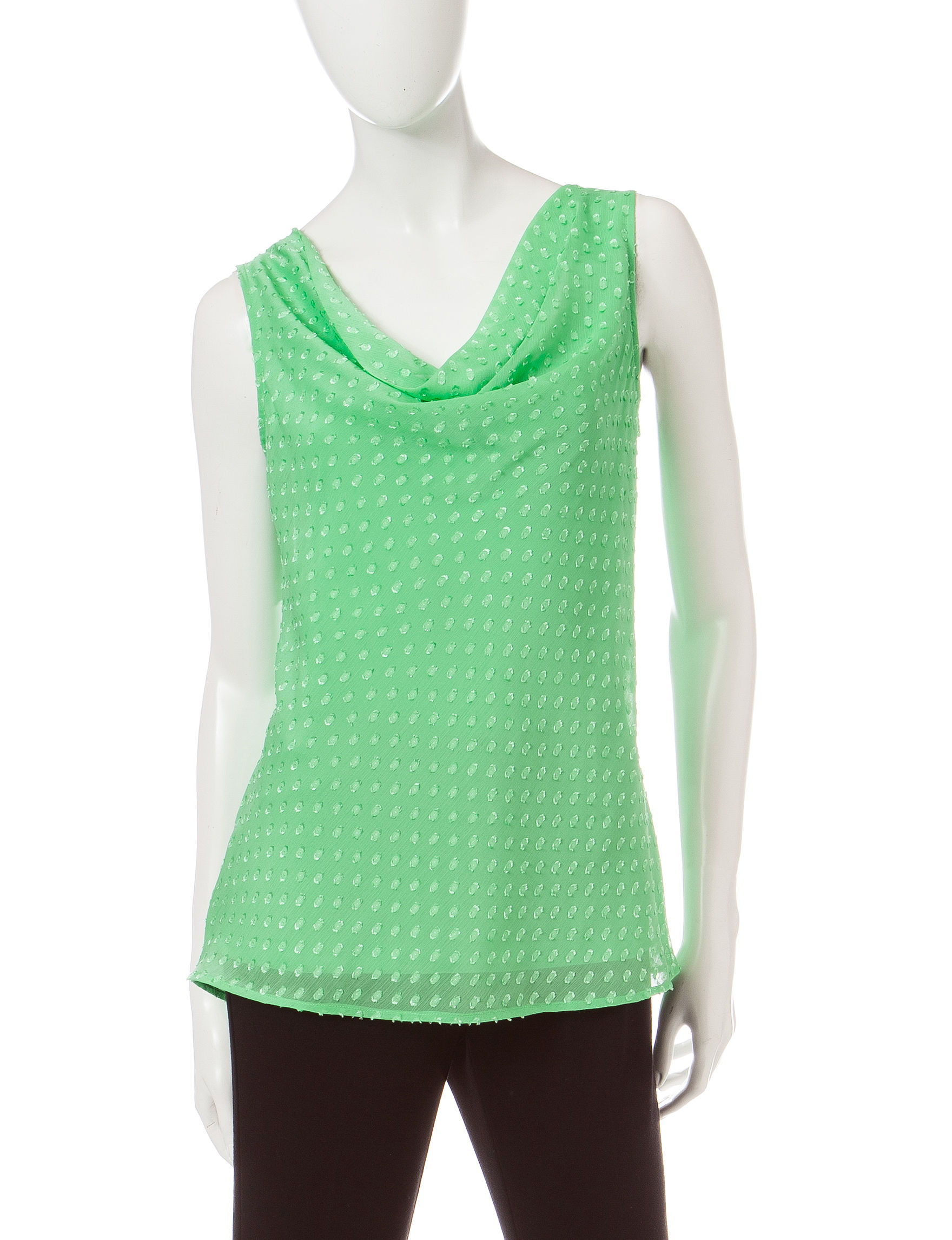 Verve Ami Green Tees & Tanks