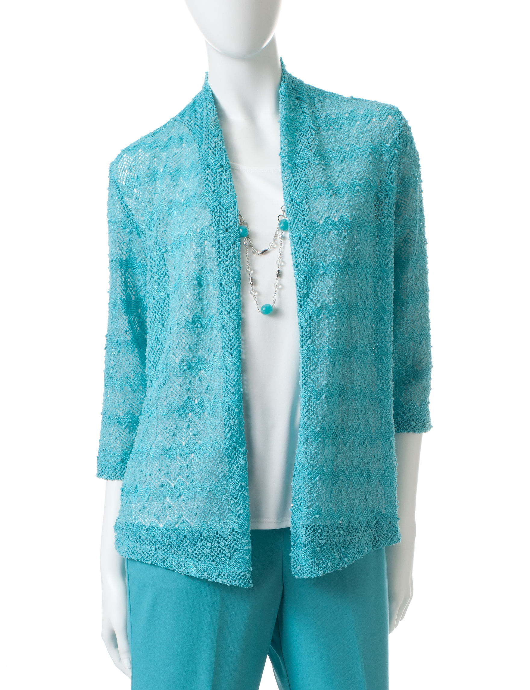 Alfred Dunner Turquoise