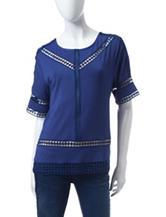 Valerie Stevens Twilight Knit Top