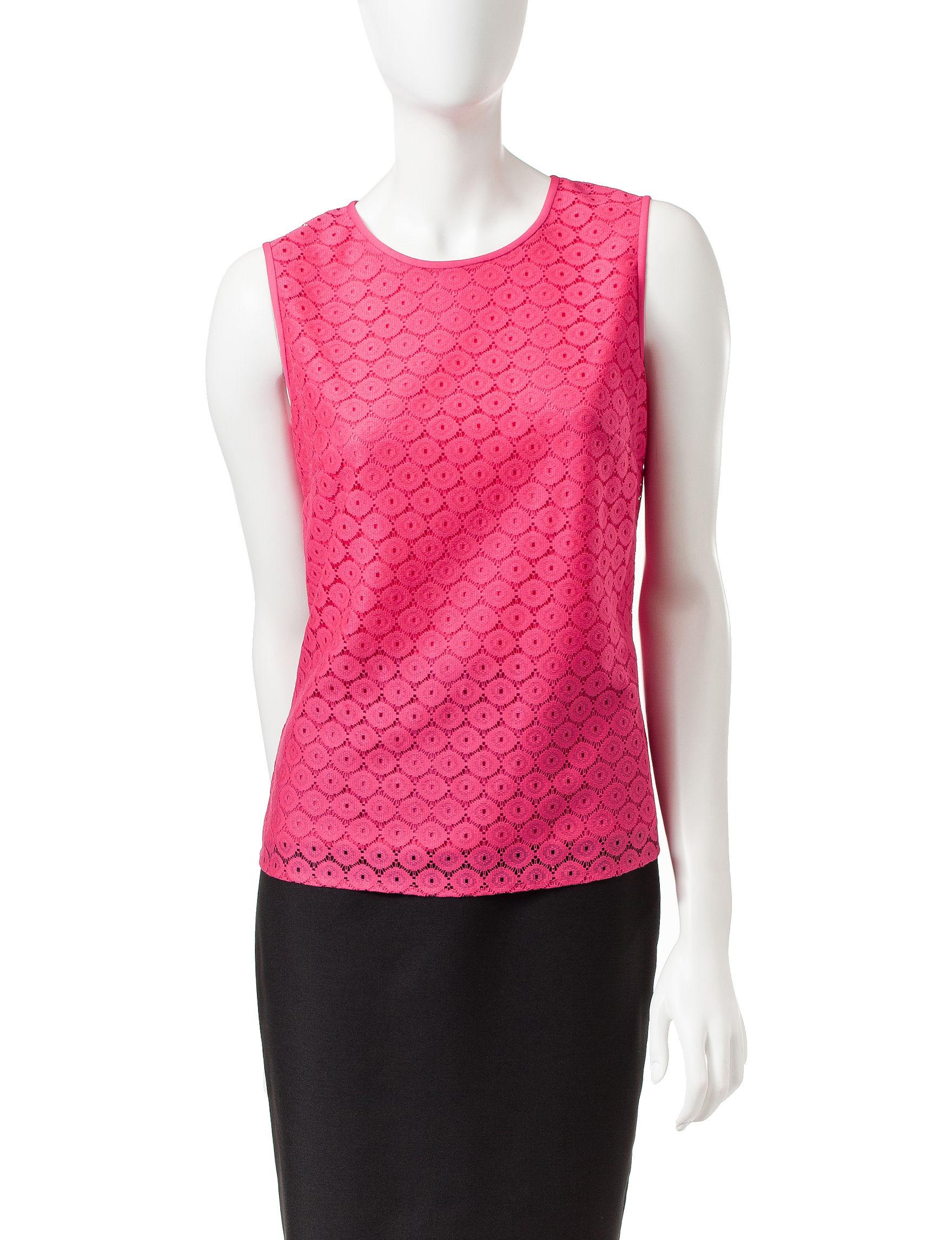 Kasper Pink Shirts & Blouses