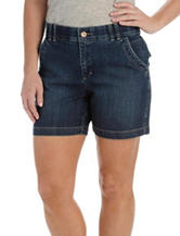 Lee® Dark Wash Denim Shorts