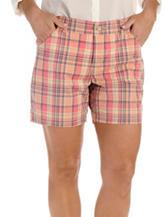 Lee® Plaid Print Shorts