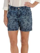 Lee® Floral Print Denim Shorts