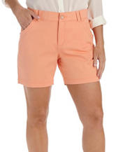 Lee® Solid Color Peach Shorts