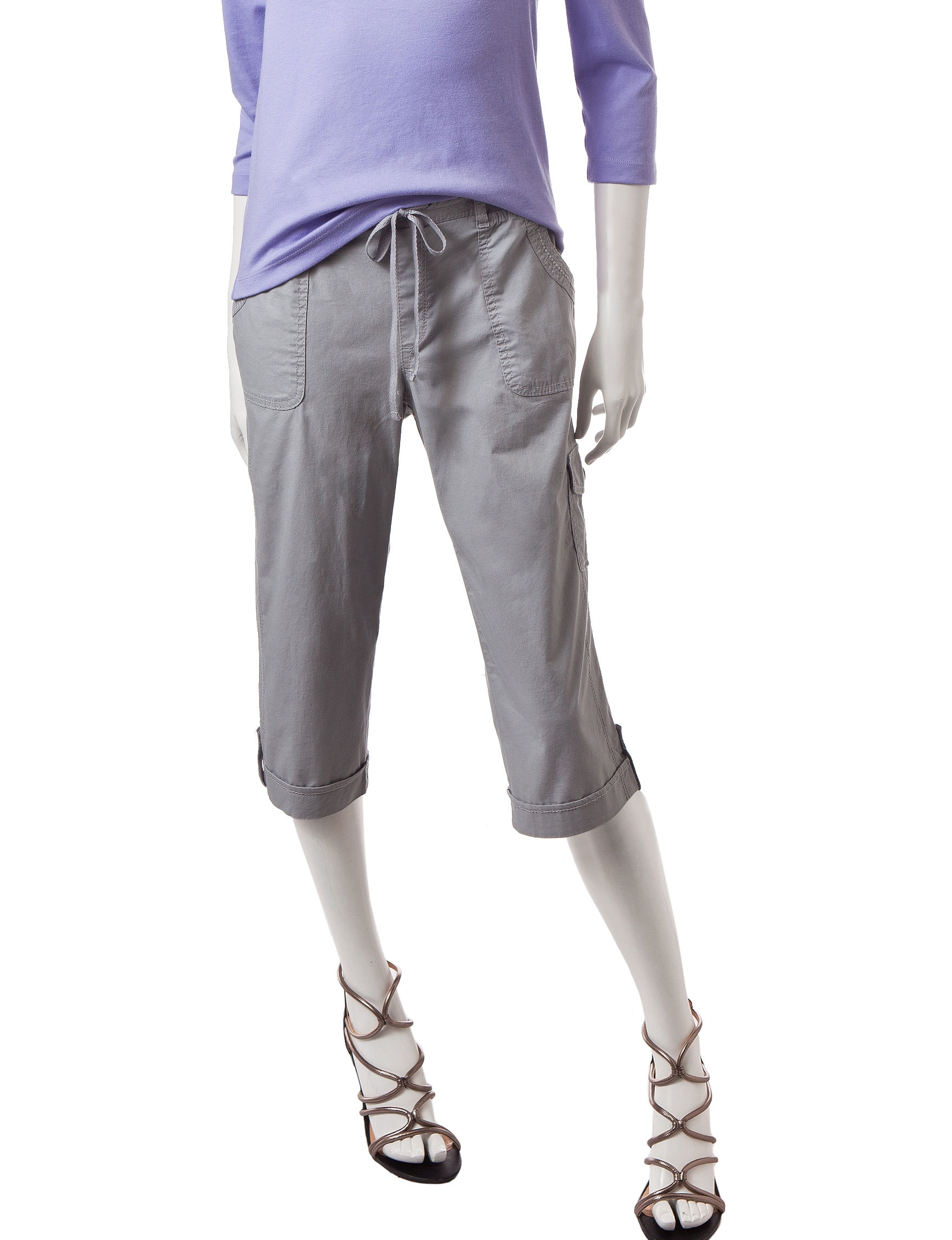Gloria Vanderbilt Grey Regular