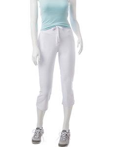 Silverwear White Capris & Crops