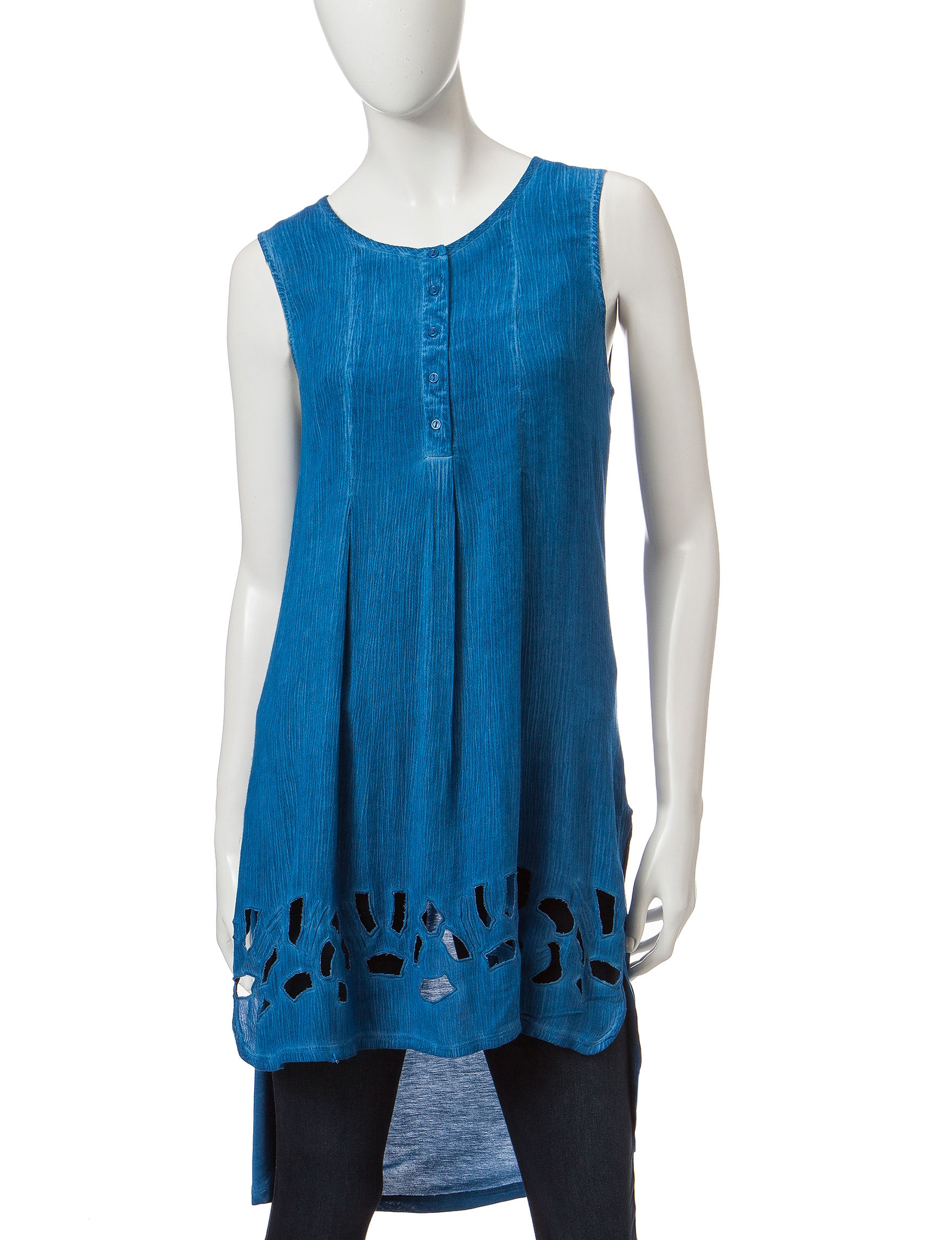 Nine West Jeans Blue Tunics