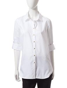 Calvin Klein White Shirts & Blouses