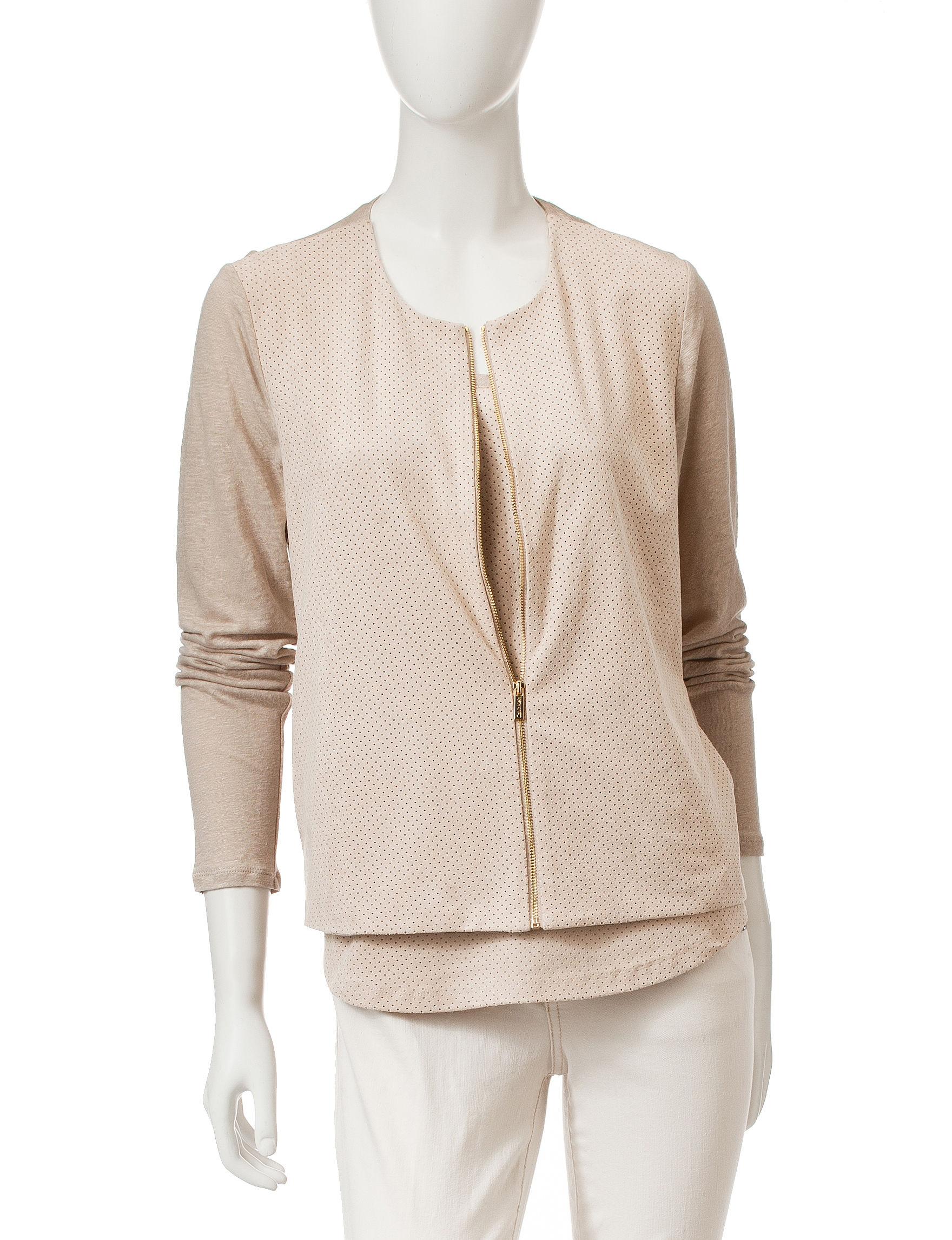 Calvin Klein Beige Lightweight Jackets & Blazers