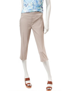 Briggs New York Brown Capris & Crops