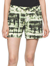 Calvin Klein Jeans Abstract Print Flared Shorts