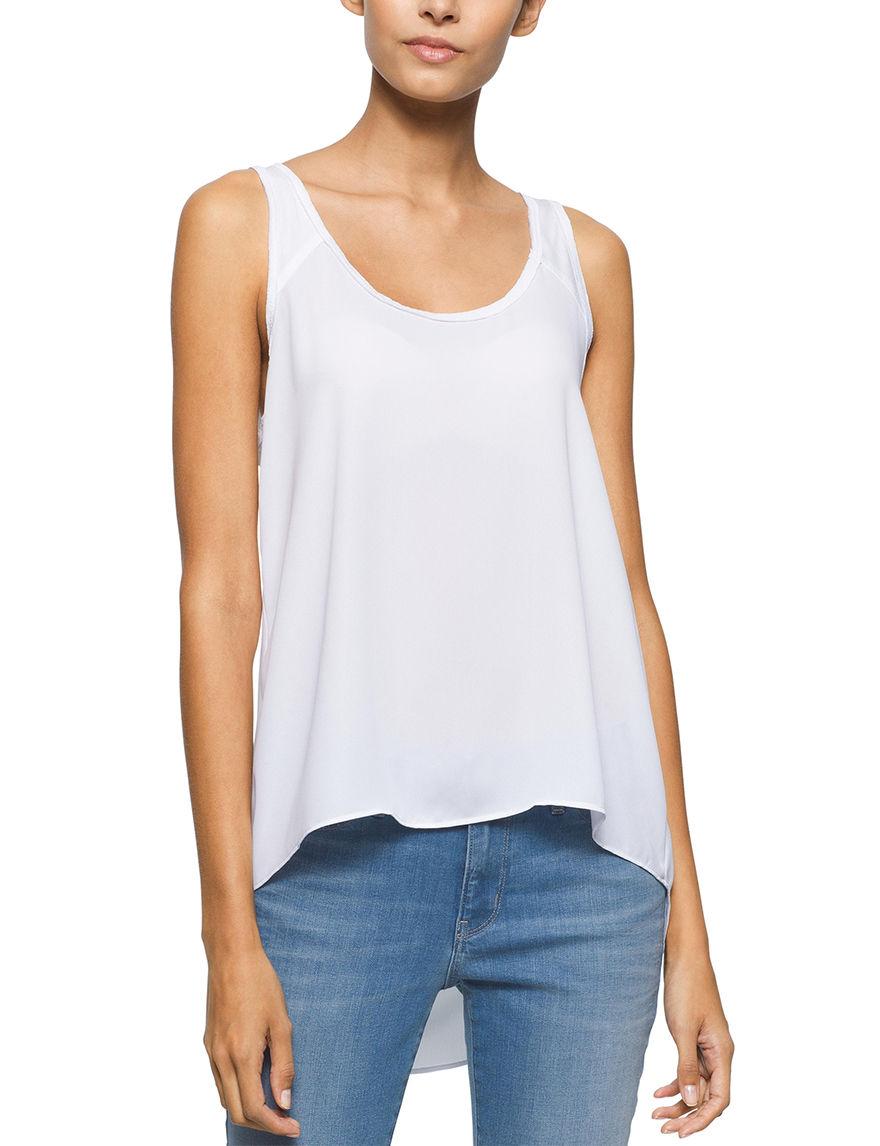 Calvin Klein Jeans White Shirts & Blouses