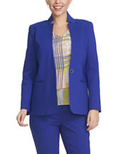 Chaus Cobalt Blue Fitted Jacket