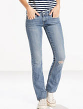 Levis® 524™ Light Wash Distressed Bootcut Jeans