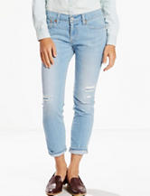 Levis® Destructed Light Wash Boyfriend Jeans