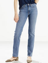 Levi's® Slimming Medium Wash Straight Leg Jeans