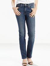 Levi's® Slimming Dark Wash Straight Leg Jeans