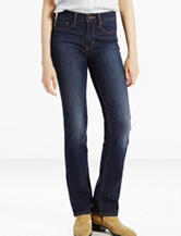 Levis® Slimming Dark Wash Straight Leg Jeans