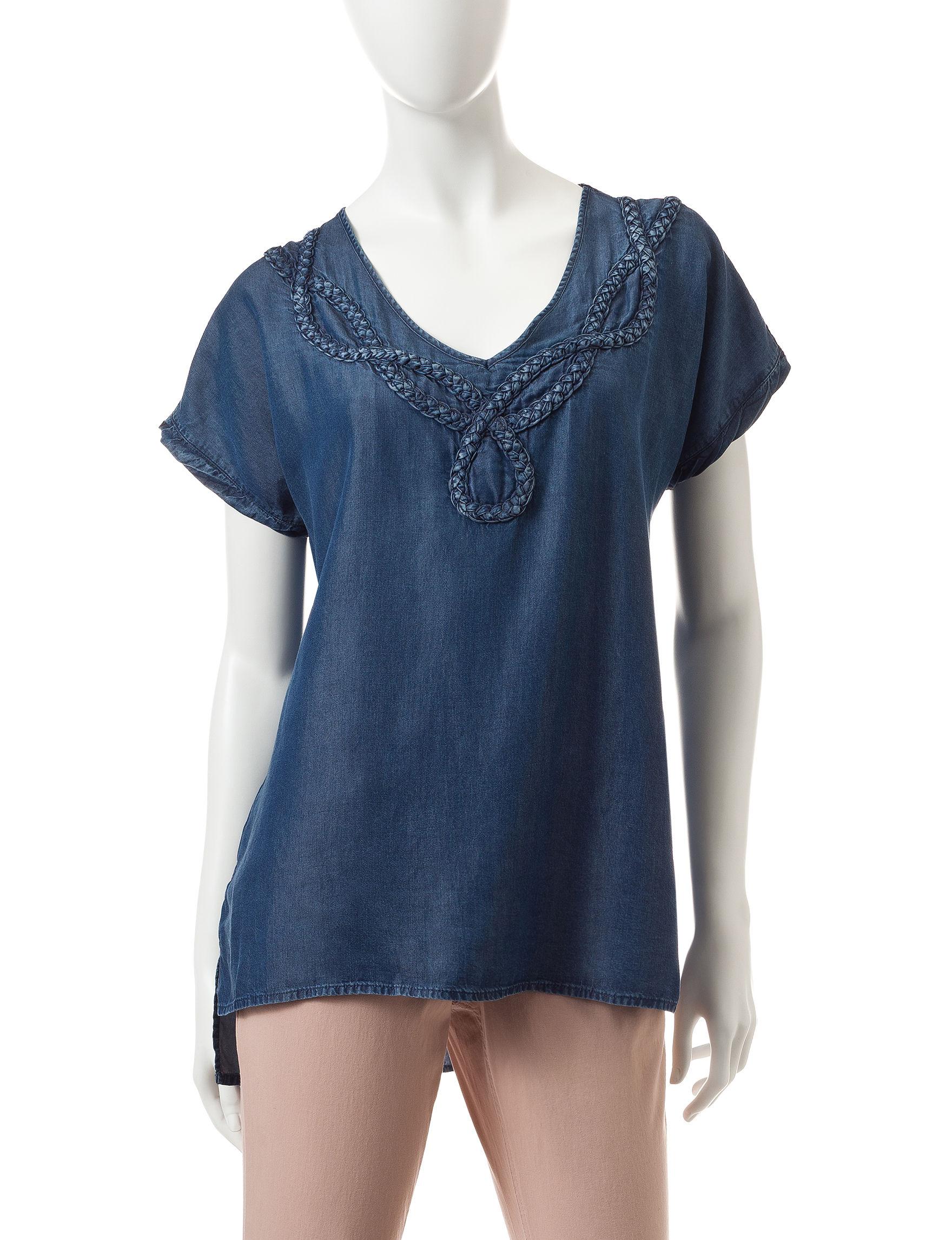 Nine West Jeans Blue Shirts & Blouses