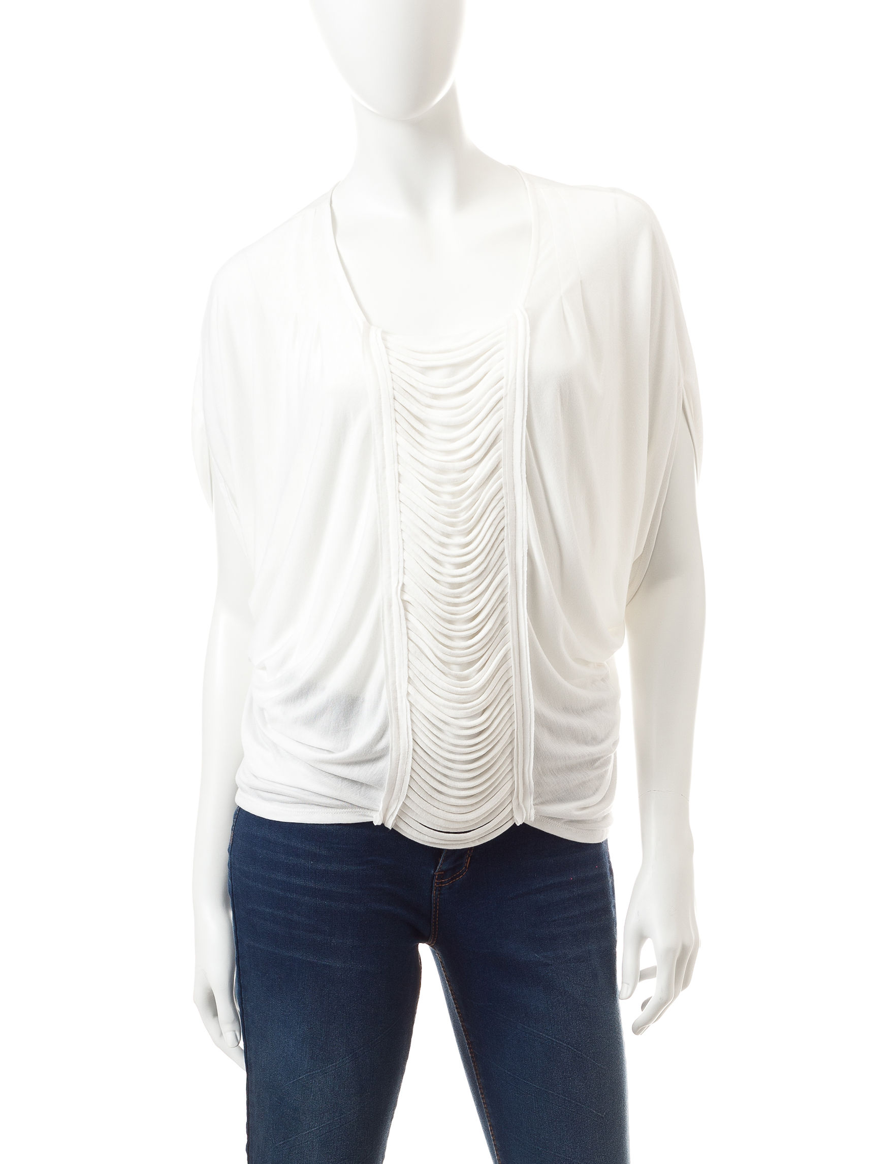 Nine West Jeans White Shirts & Blouses
