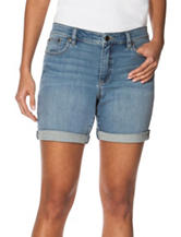 Chaps Medium Wash Denim Shorts