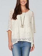 Democracy Texture Lace Top