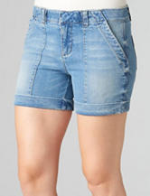 Democracy Absolution Light Wash Shorts