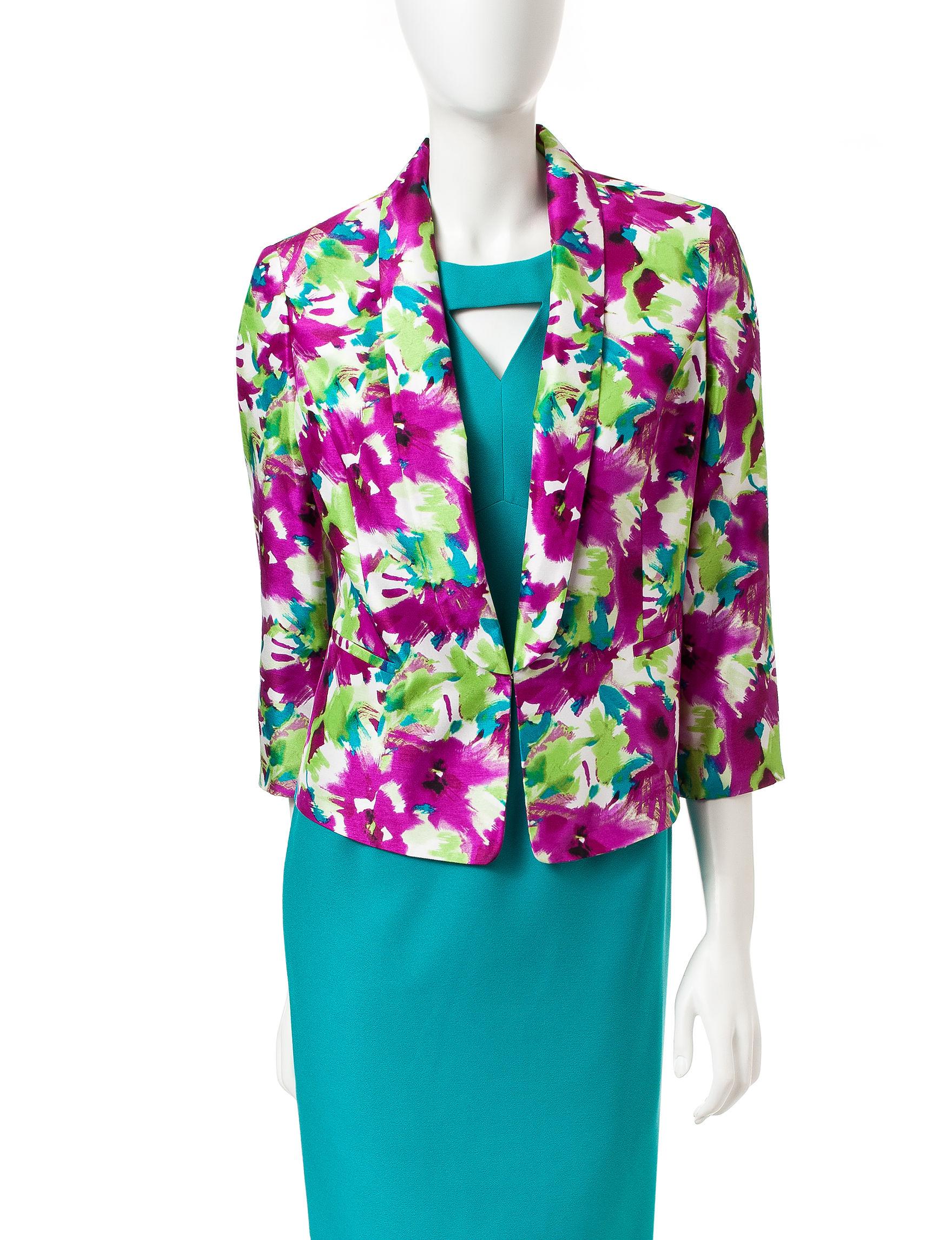 Kasper Orchid Purple Lightweight Jackets & Blazers