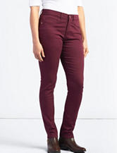 Lee® Dark Red Easy Fit Frenchie Skinny Jeans