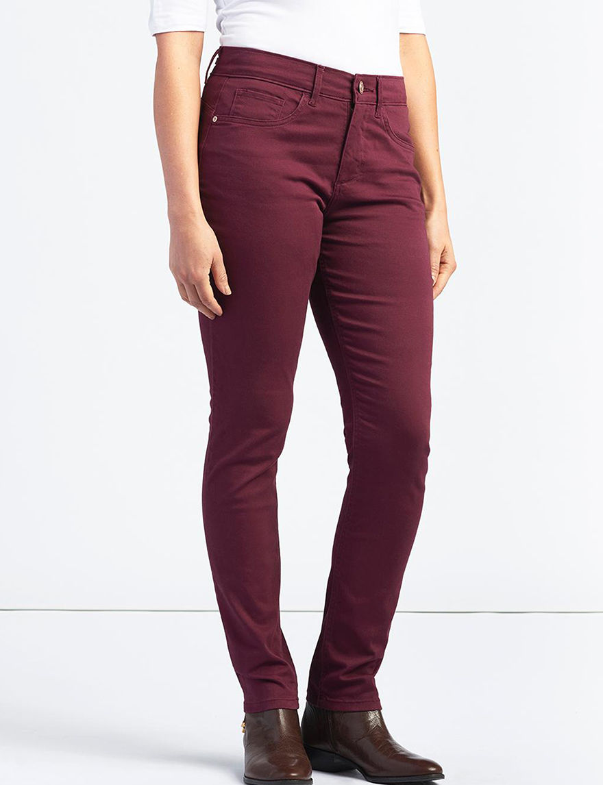 Lee Dark Red Skinny